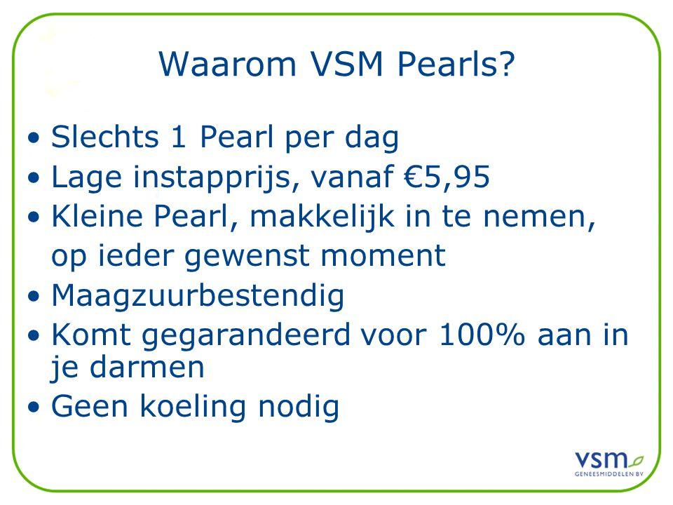 Waarom VSM Pearls.