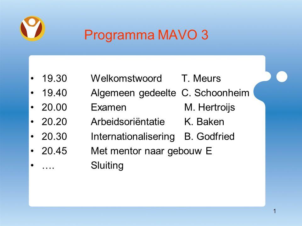 Belangrijke data Onderwijsbeurs (28&29 sept.2012) Schoolkeuzeboekje (oktober 2012) Inventarisatieronde (okt.