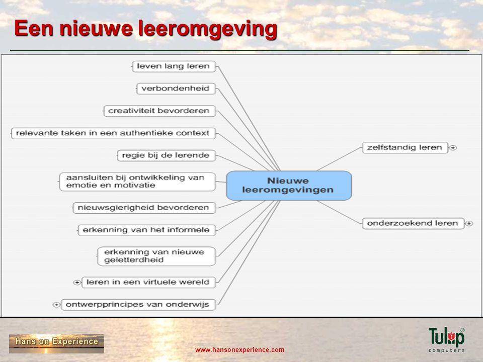 www.hansonexperience.com Een nieuwe leeromgeving