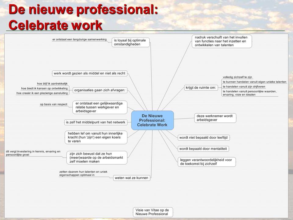 www.hansonexperience.com De nieuwe professional: Celebrate work