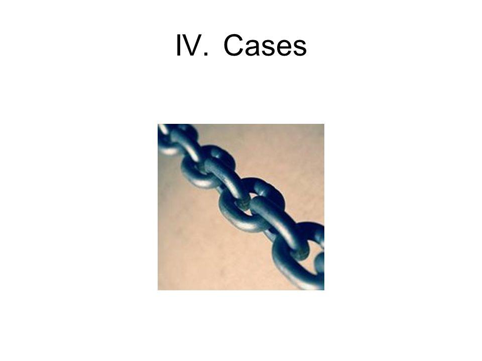 IV.Cases