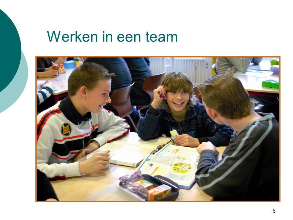 Werken in een team 6