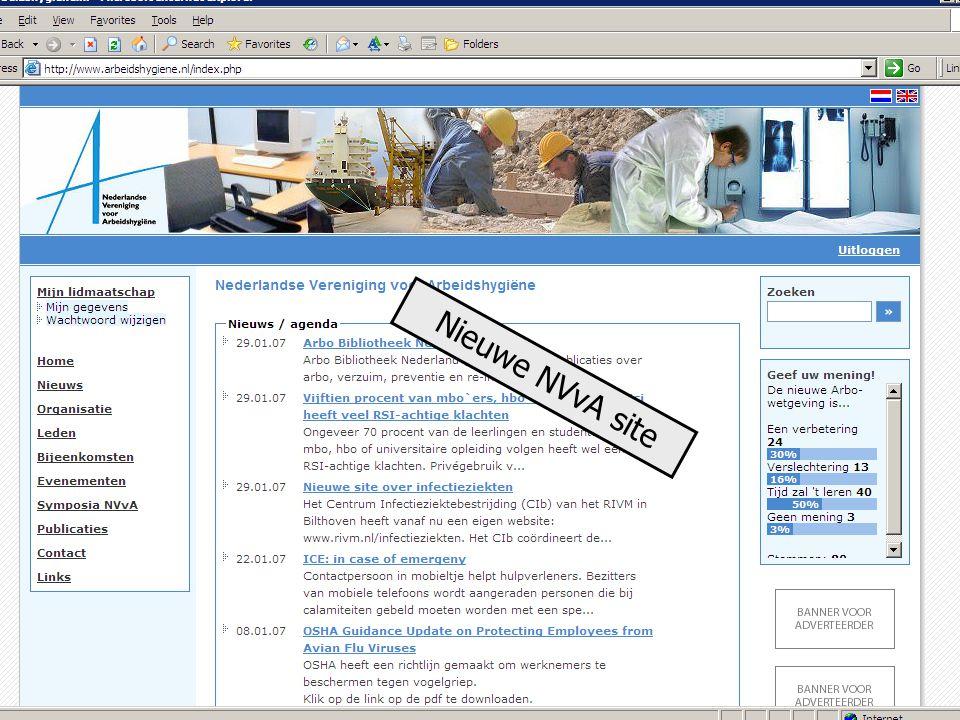 3 Nieuwe NVvA site