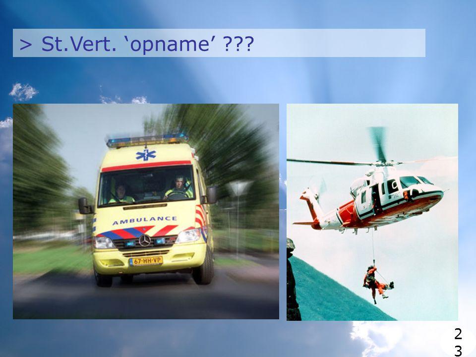 > St.Vert. 'opname' 2323