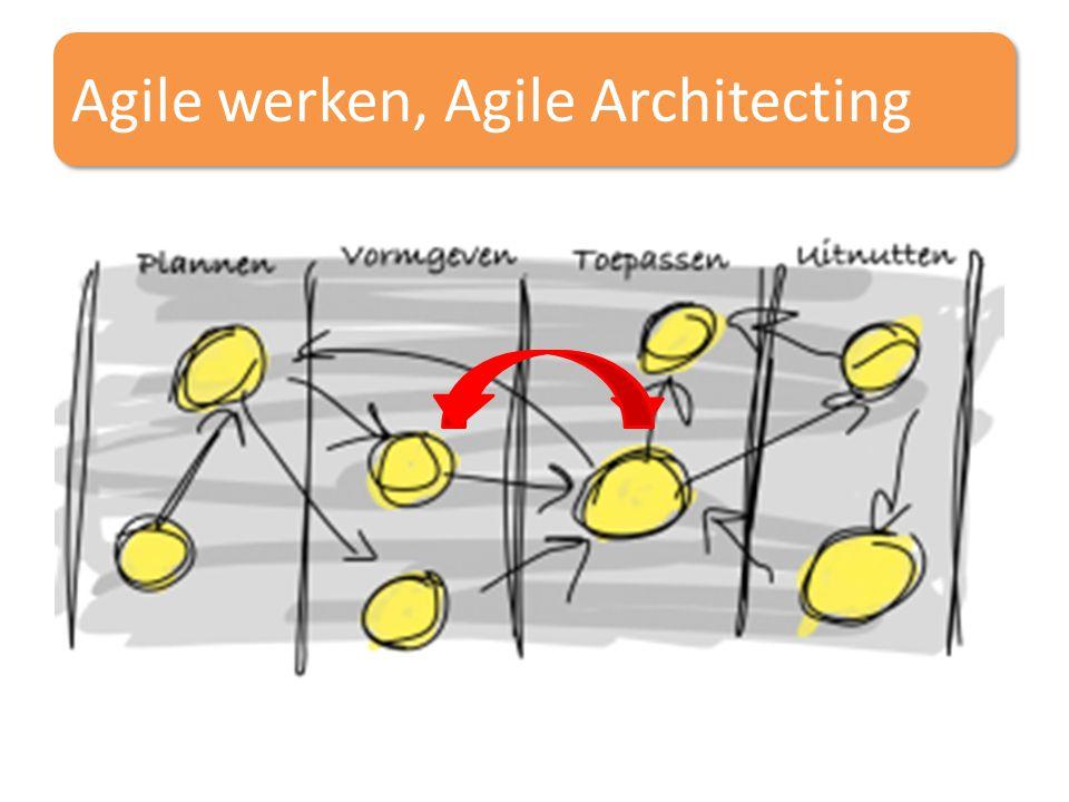 Agile werken, Agile Architecting