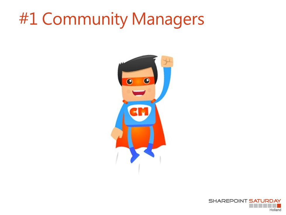 #1 Community Managers
