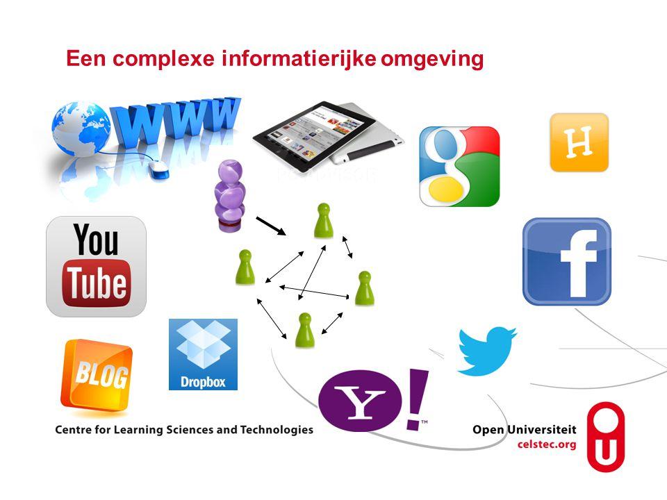Een complexe informatierijke omgeving