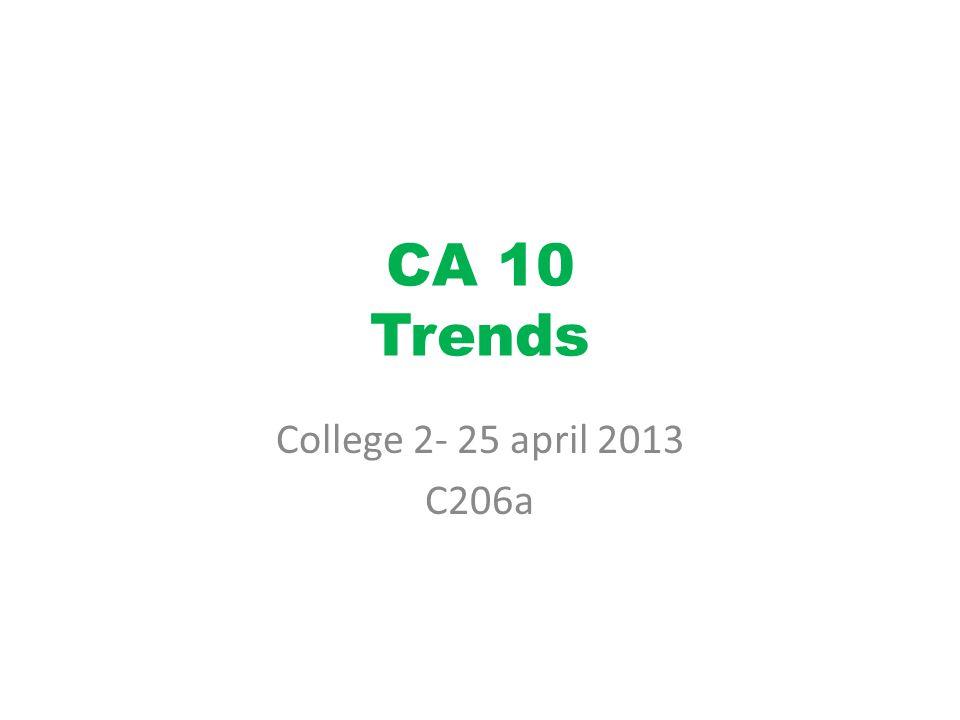 CA 10 Trends College 2- 25 april 2013 C206a