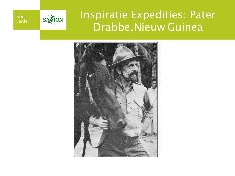 Inspiratie Expedities: Pater Drabbe,Nieuw Guinea