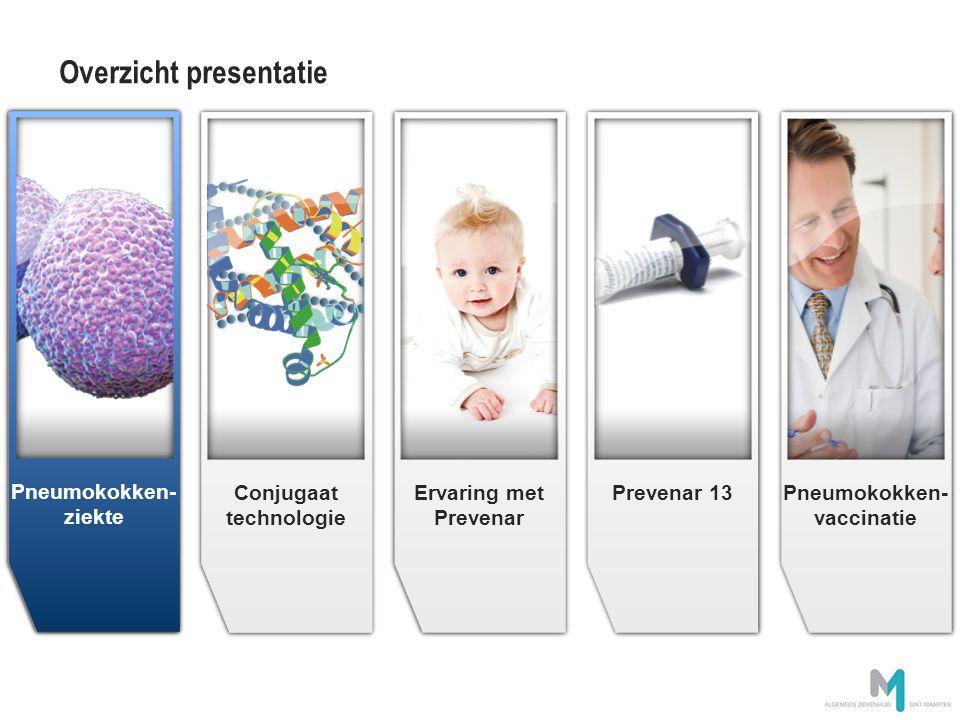 Prevenar 13 biedt bescherming tegen 13 serotypes van S.