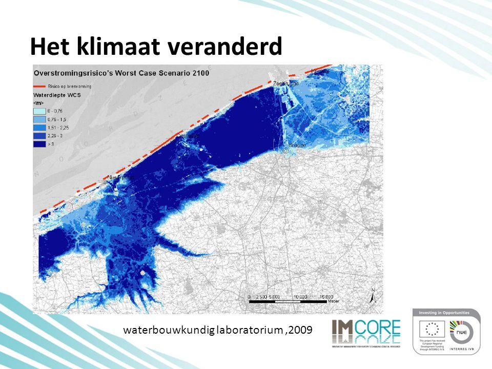 Het klimaat veranderd waterbouwkundig laboratorium,2009