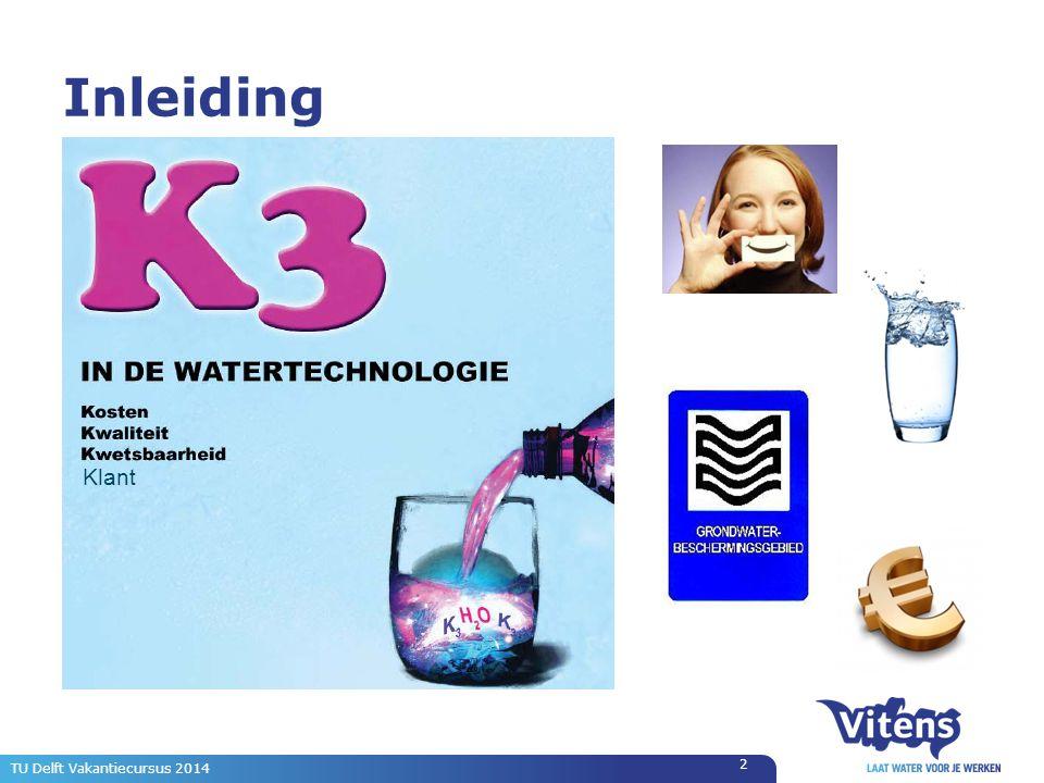 TU Delft Vakantiecursus 2014 2 Inleiding Klant
