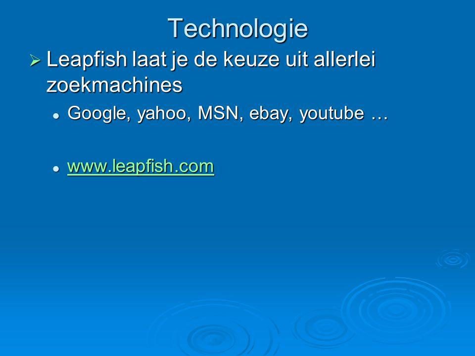 Technologie  http://translate.google.com http://translate.google.com Vertaling van tekst of websites Vertaling van tekst of websites