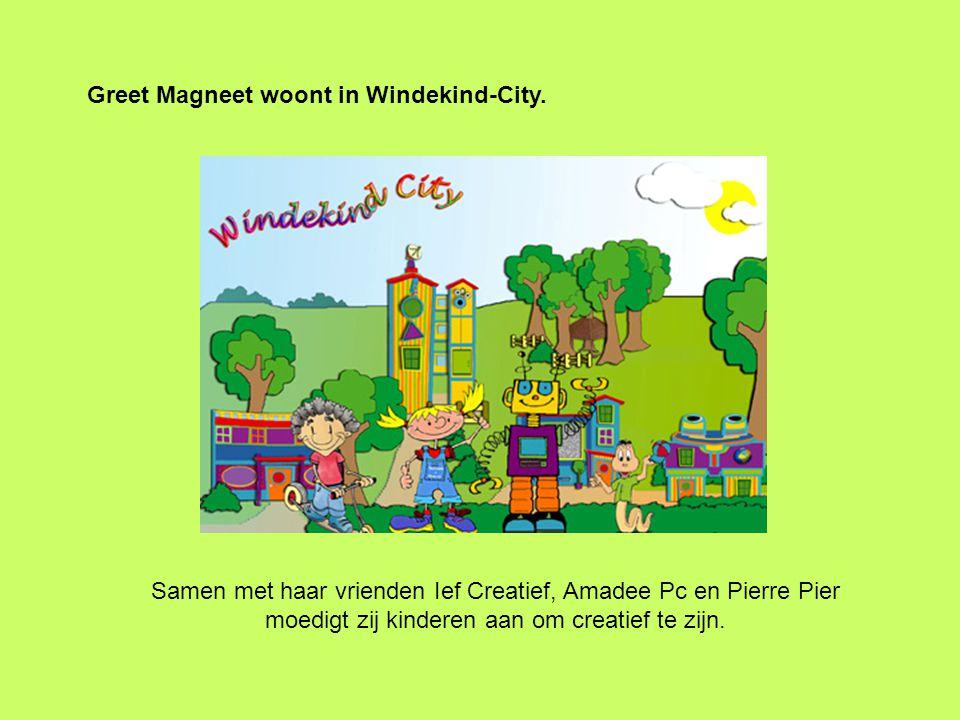 Greet Magneet woont in de Technotoren van Windekind-City.