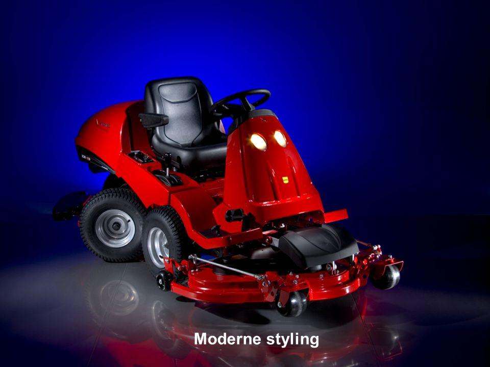 Modern stylingModerne styling