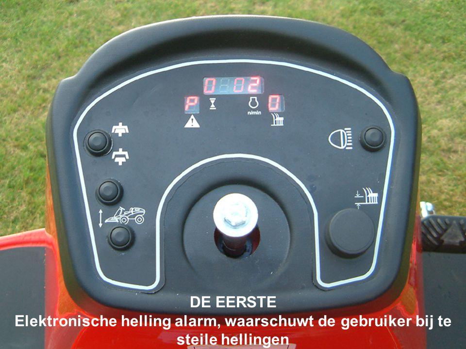 DE EERSTE Elektronische helling alarm, waarschuwt de gebruiker bij te steile hellingen