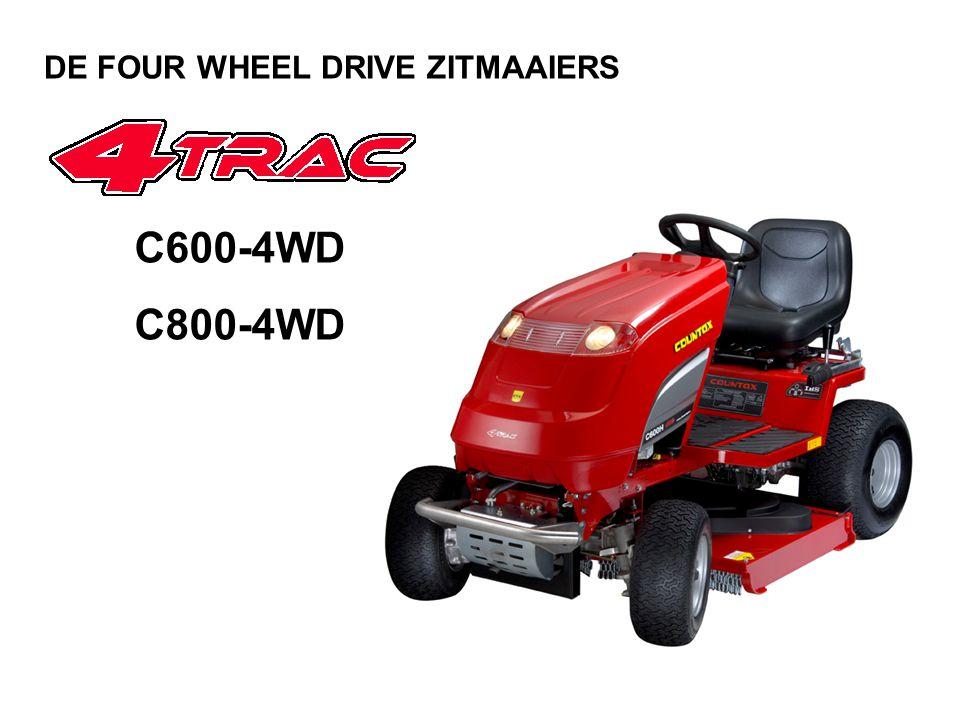 C600-4WD C800-4WD DE FOUR WHEEL DRIVE ZITMAAIERS