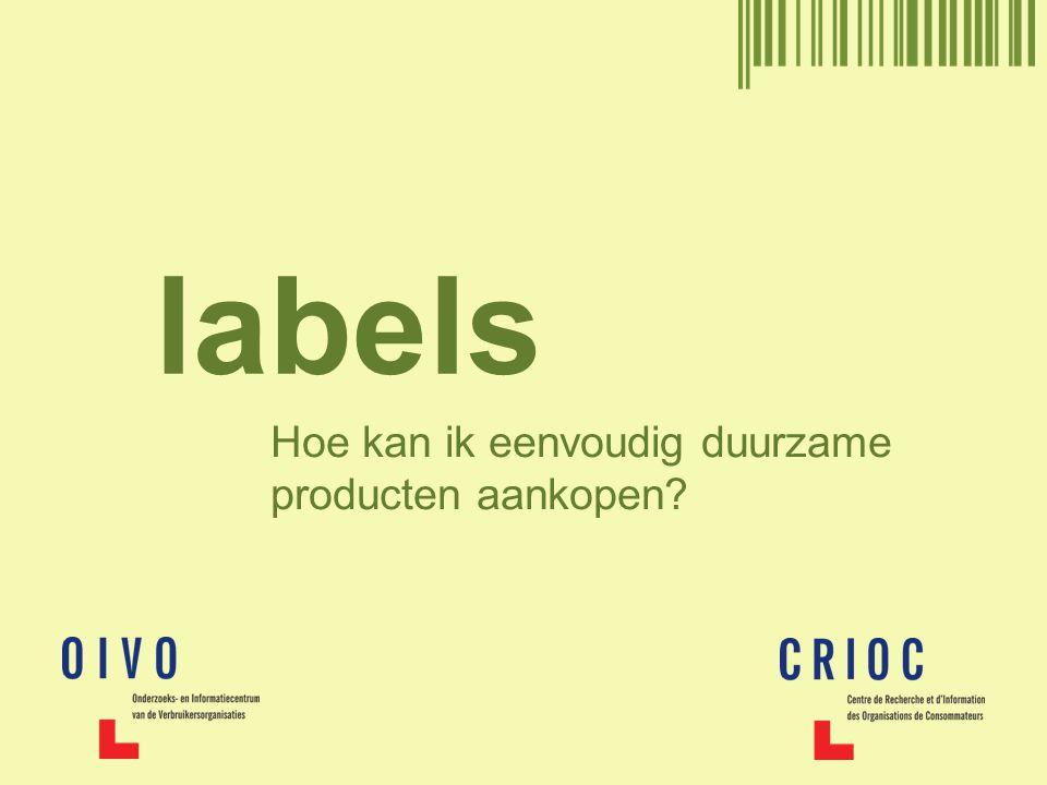 labels Hoe kan ik eenvoudig duurzame producten aankopen?