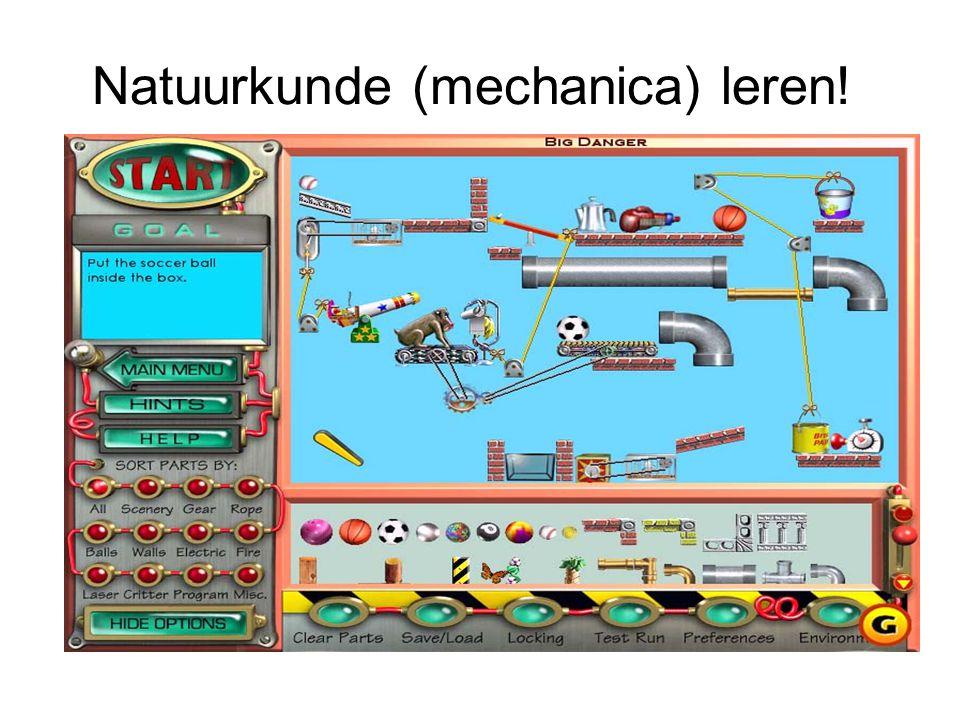 Natuurkunde (mechanica) leren!