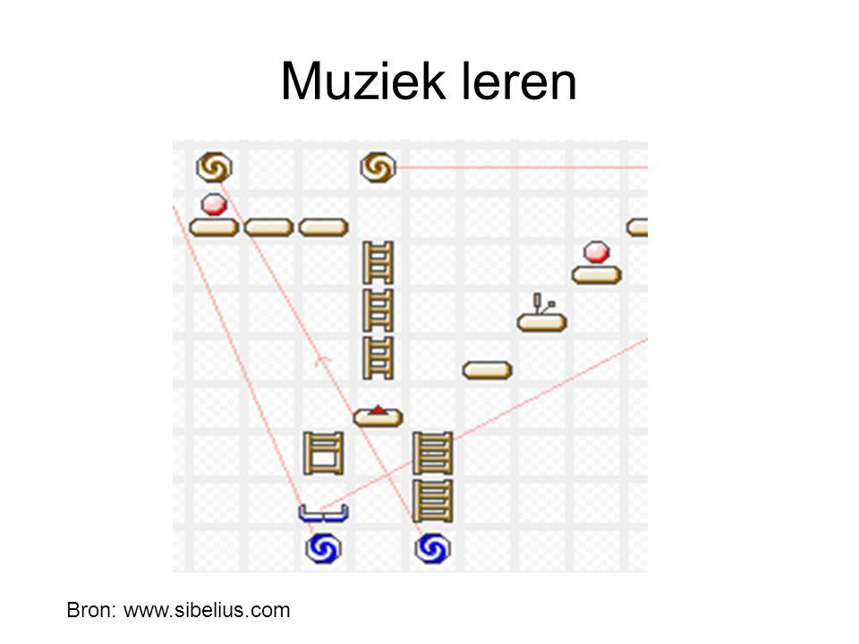Muziek leren Bron: www.sibelius.com