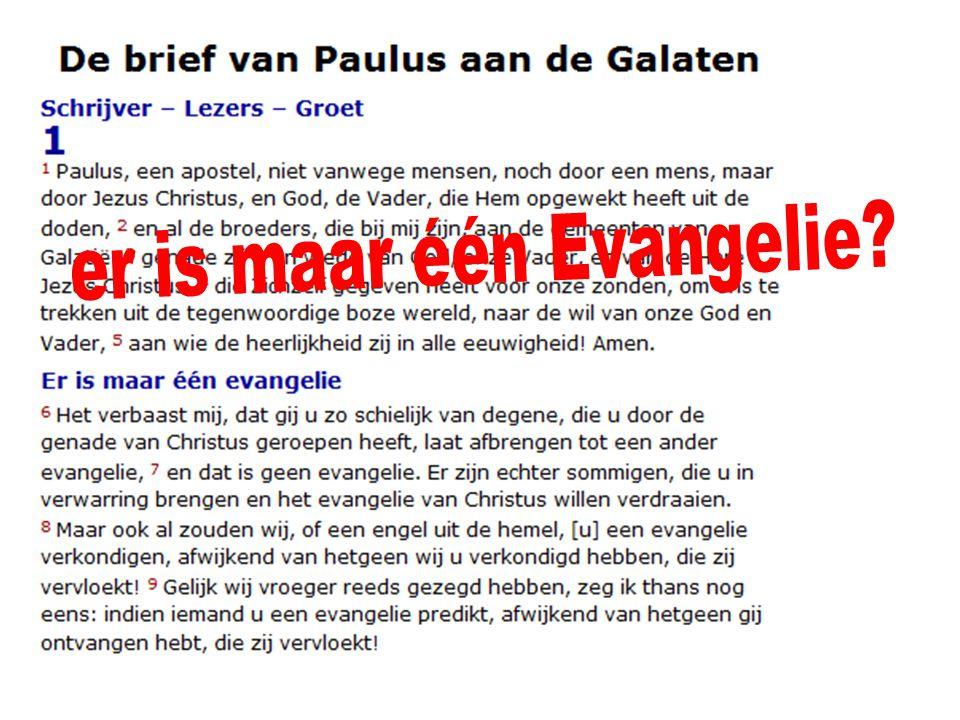 … deelhebben aan het Evangelie