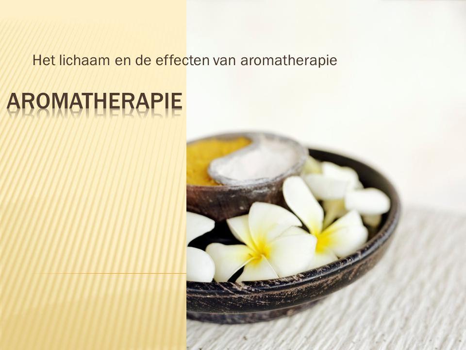  Wat is aromatherapie.
