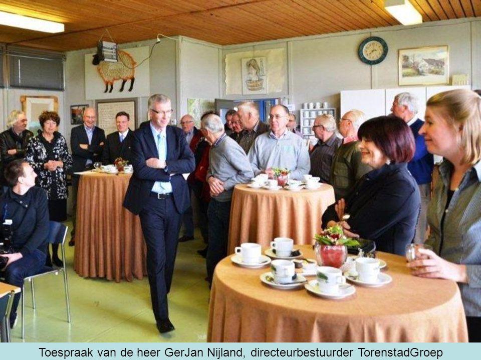 Toespraak van de heer GerJan Nijland, directeurbestuurder TorenstadGroep