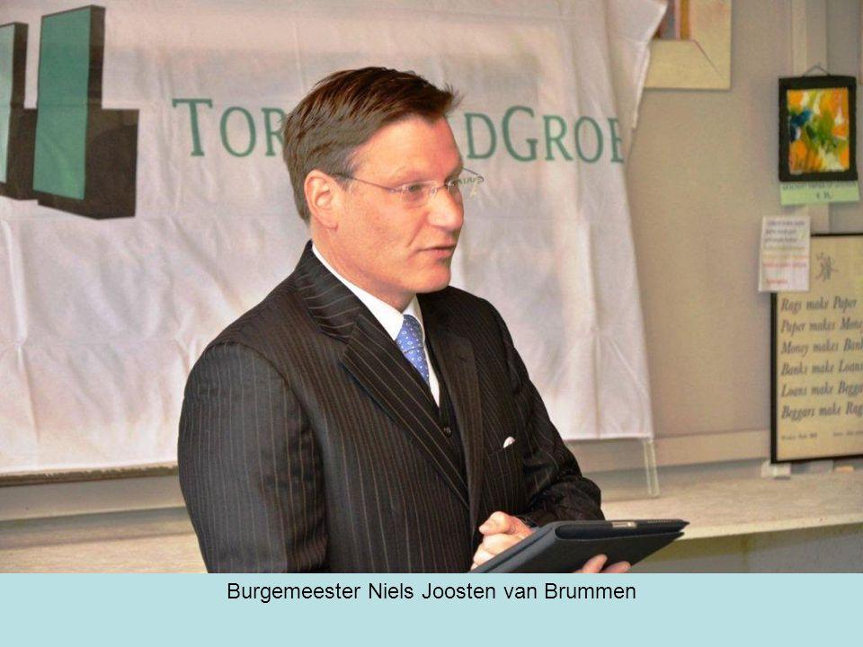 Burgemeester Niels Joosten van Brummen