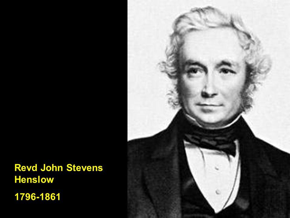 Revd John Stevens Henslow 1796-1861