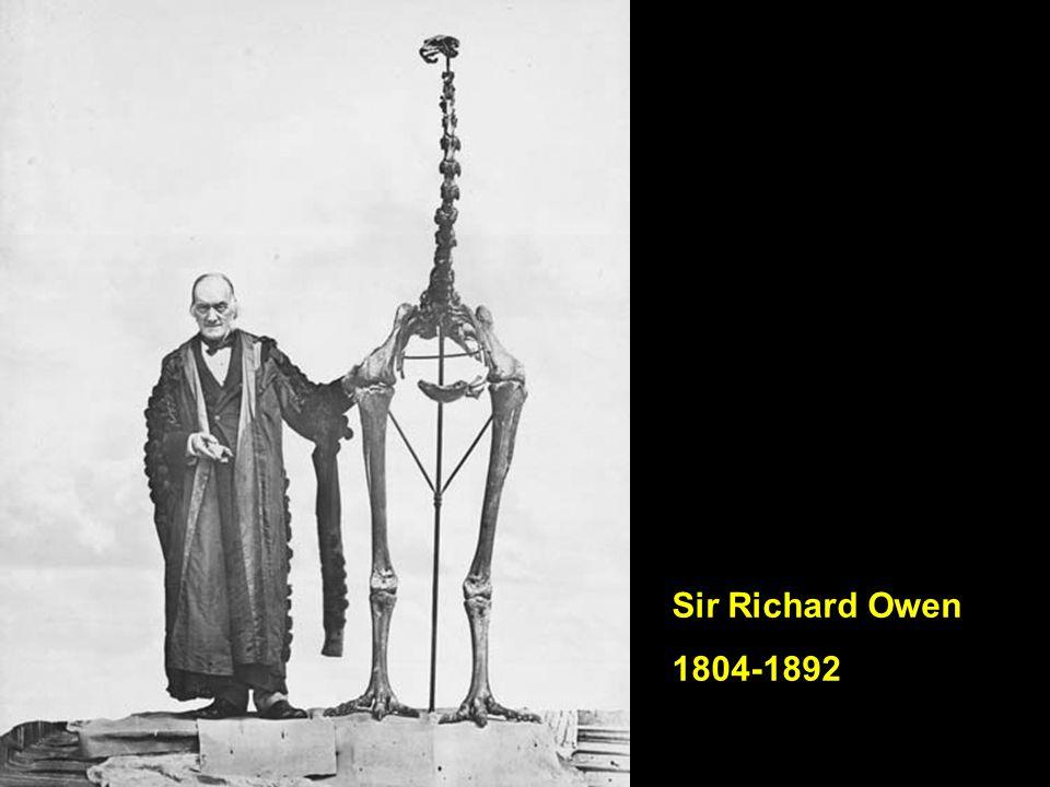 Sir Richard Owen 1804-1892
