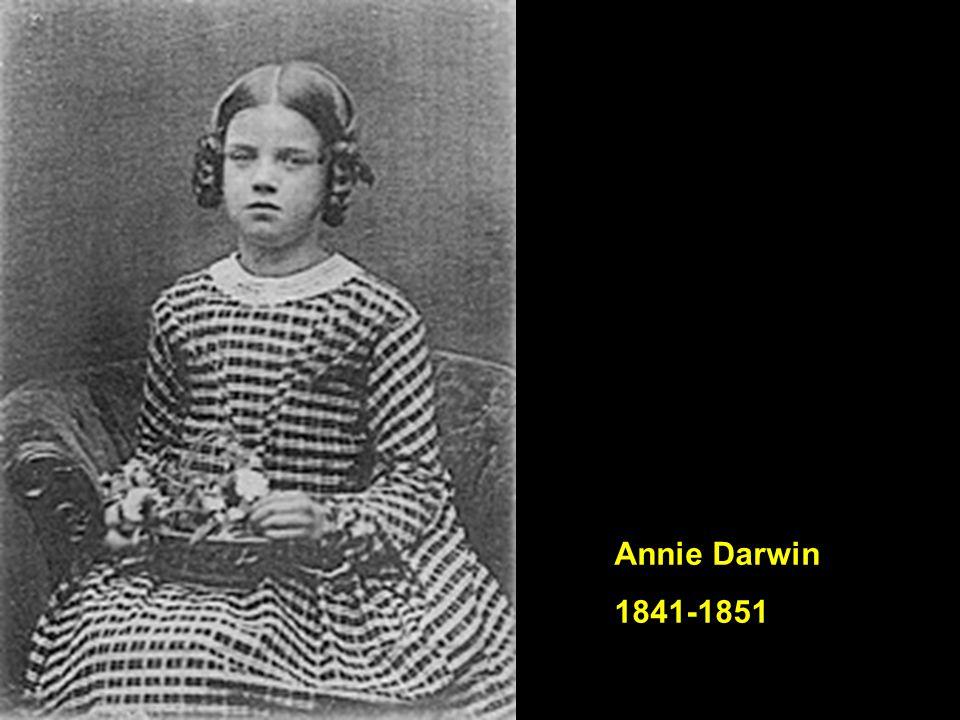 Annie Darwin 1841-1851
