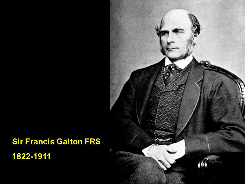 Sir Francis Galton FRS 1822-1911