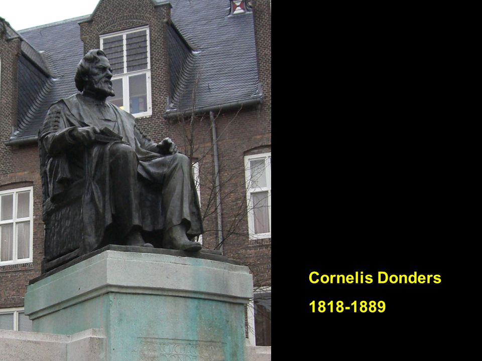 Cornelis Donders 1818-1889