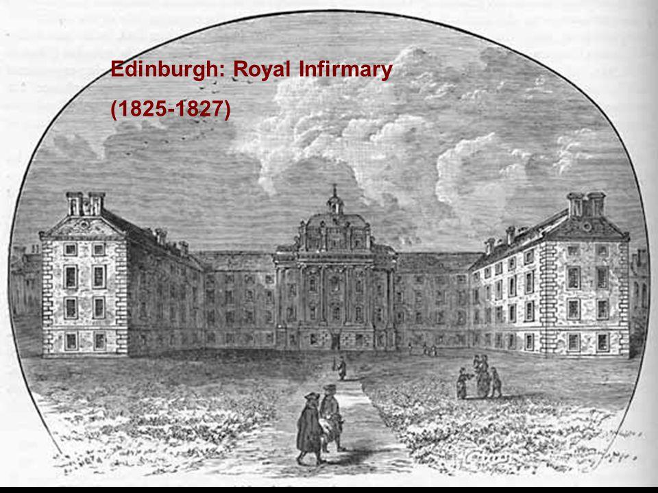 Edinburgh: Royal Infirmary (1825-1827)