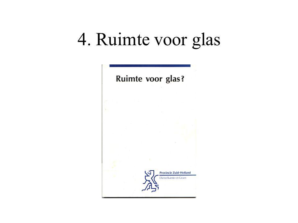 4. Ruimte voor glas