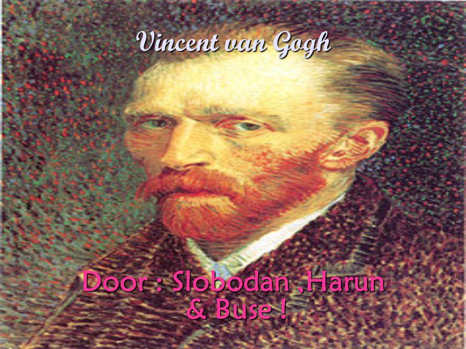 Vincent van Gogh Door : Slobodan,Harun & Buse !