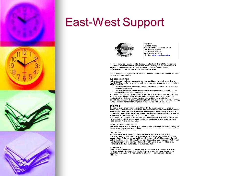 East-West Support