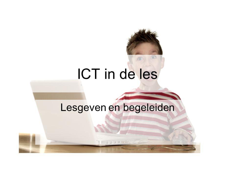 ICT in de les Lesgeven en begeleiden