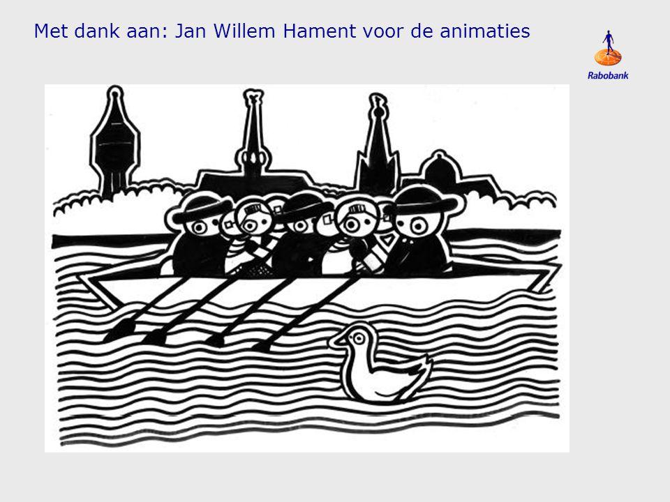 Met dank aan: Jan Willem Hament voor de animaties
