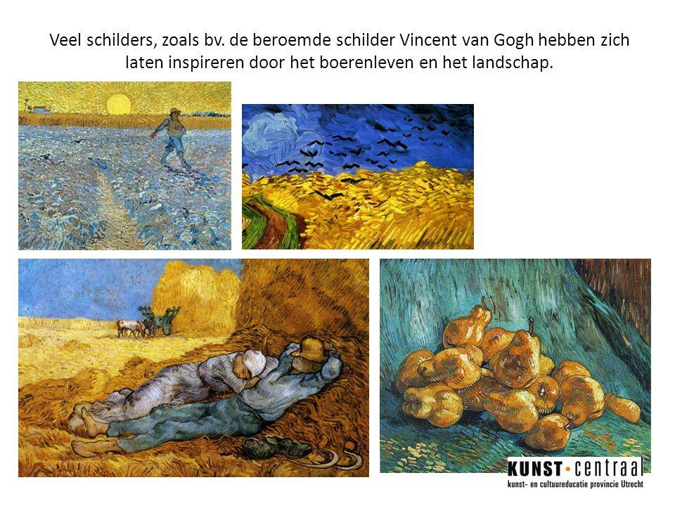 Veel schilders, zoals bv.