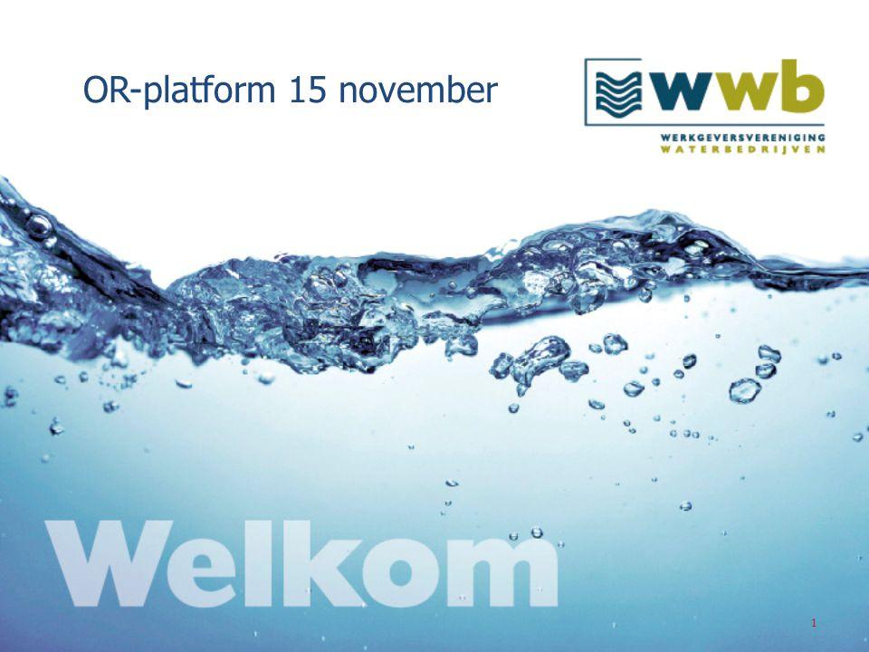 22 De WWb Op de agenda: 1.Onze sector WWb 2.Ambitie van de WWb-bedrijven 3.Cao-Doetank Doet!