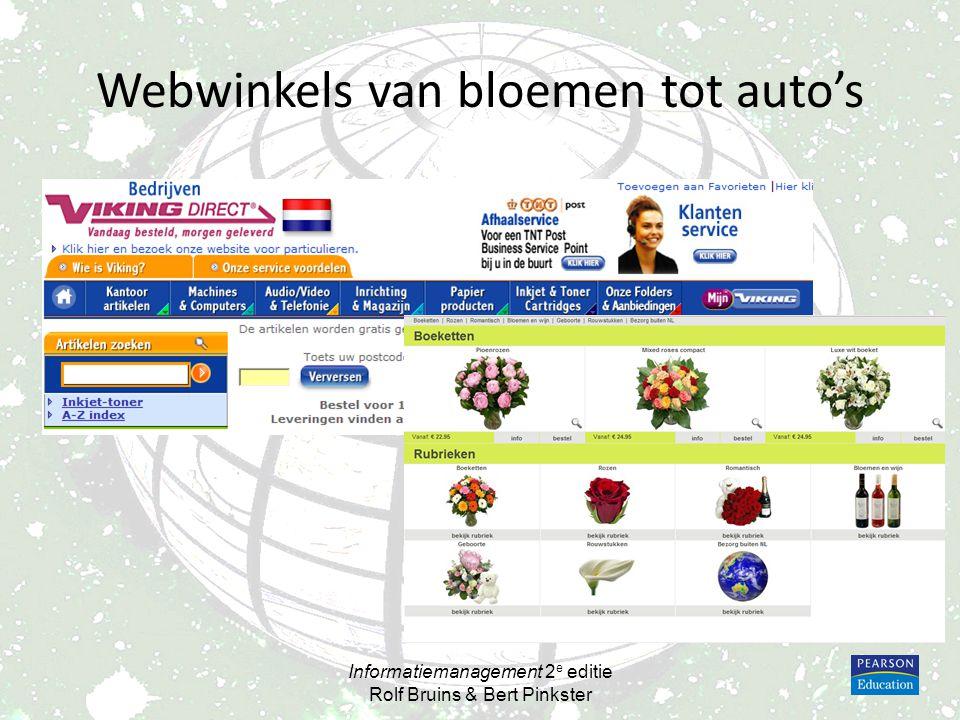 Google 1997 -1999 -2009 Informatiemanagement 2 e editie Rolf Bruins & Bert Pinkster