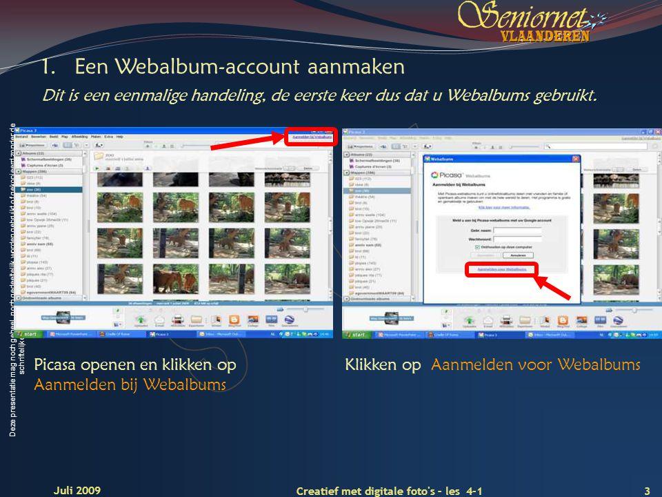 Deze presentatie mag noch geheel, noch gedeeltelijk worden gebruikt of gekopieerd zonder de schriftelijke toestemming van Seniornet Vlaanderen VZW 3 C