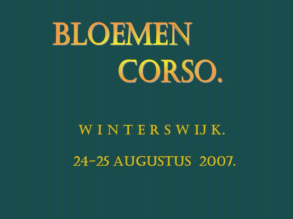 W i n t e r s w ij k. 24-25 Augustus 2007.