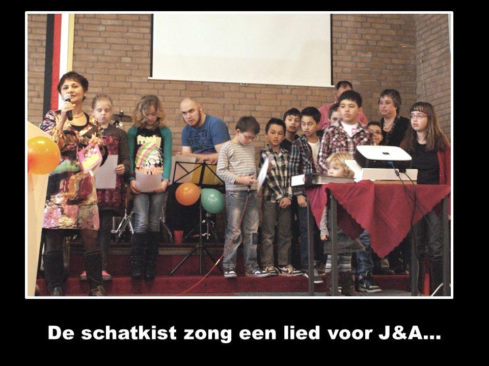 De schatkist zong een lied voor J&A…