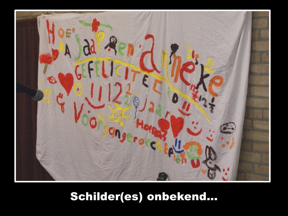 Schilder(es) onbekend…