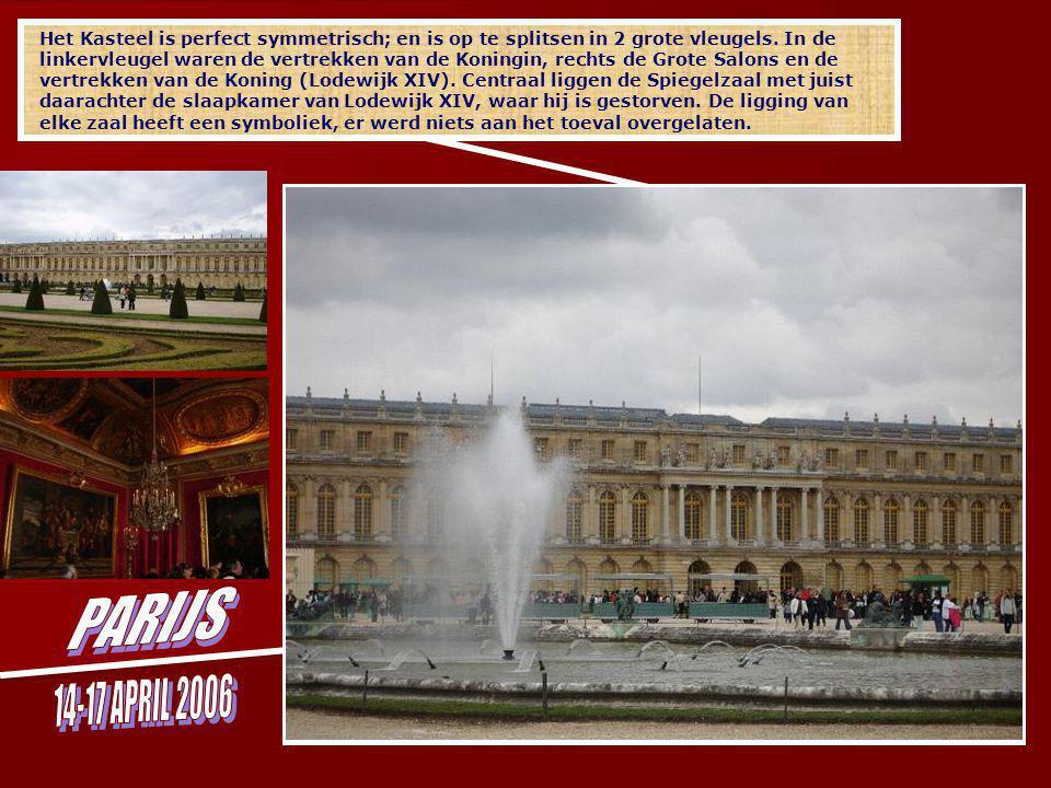 We verlieten hartje Parijs voor een bezoek aan de tuinen en het kasteel van Versailles.