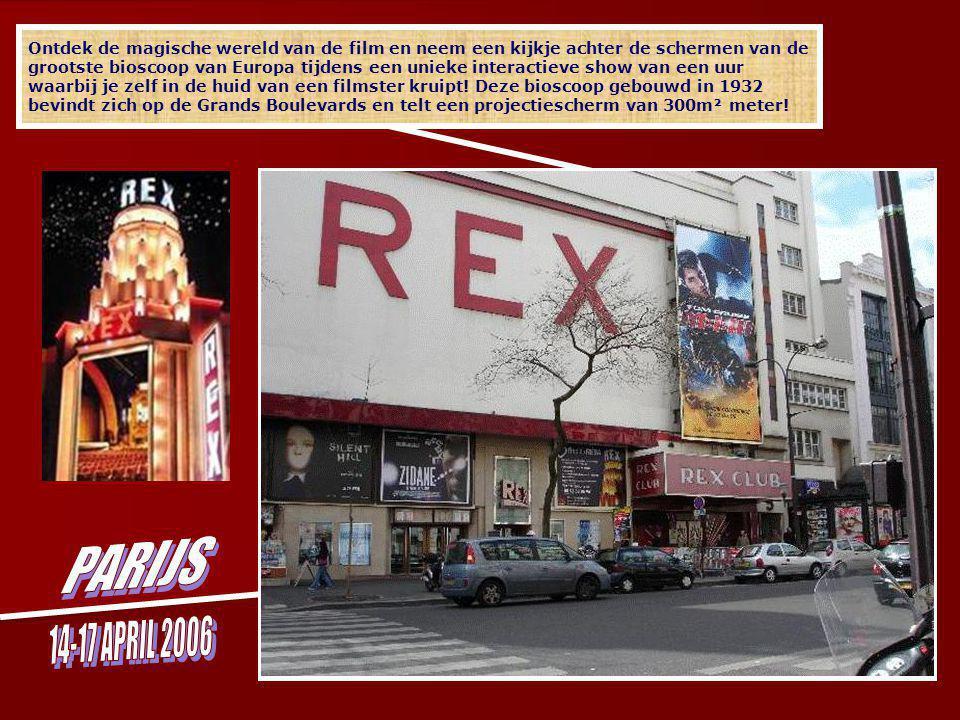 Ontdek de magische wereld van de film en neem een kijkje achter de schermen van de grootste bioscoop van Europa tijdens een unieke interactieve show van een uur waarbij je zelf in de huid van een filmster kruipt.