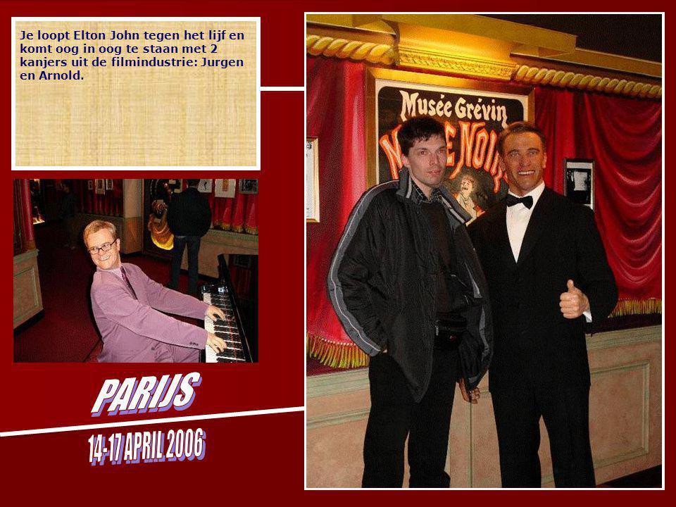 Je loopt Elton John tegen het lijf en komt oog in oog te staan met 2 kanjers uit de filmindustrie: Jurgen en Arnold.