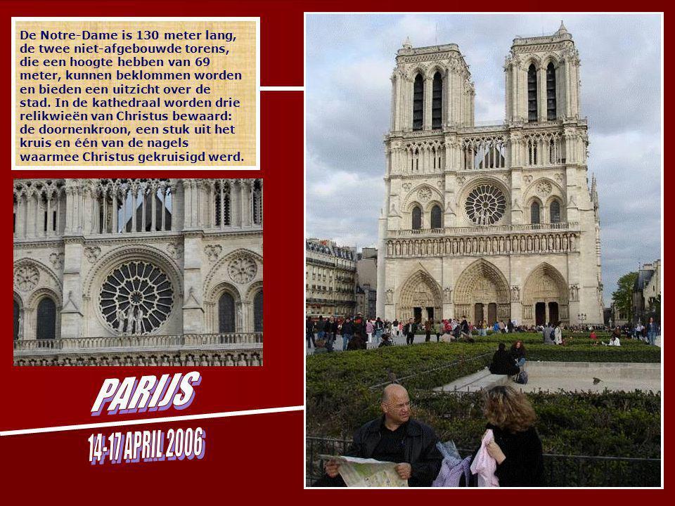 De basiliek ''Sacré Coeur'' vinden we terug op de heuvel in Montmartre.